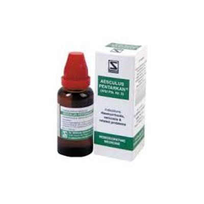 Buy Schwabe Homeopathic German Range Aesculus Pentarkan online United States of America [ USA ]