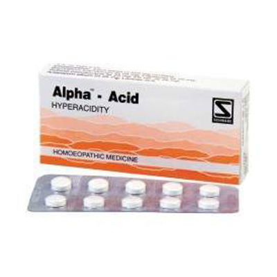 Buy Schwabe Homeopathy Alpha Acid - For Acidity online United States of America [ USA ]