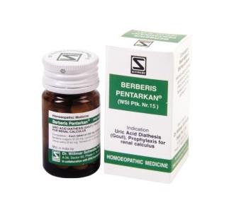 Buy Schwabe Homeopathy Berberis Pentarkan Online MY