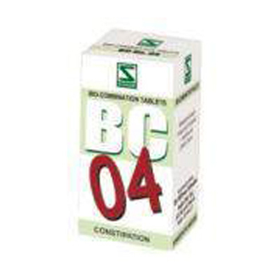 Buy Schwabe Homeopathy Bio Combination 04 - Constipation online United States of America [ USA ]