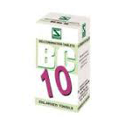 Buy Schwabe Homeopathy Bio Combination 10 - Enlarged Tonsils online United States of America [ USA ]