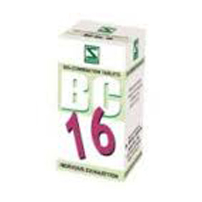 Buy Schwabe Homeopathy Bio Combination 16 - Nervous Exhaustion online United States of America [ USA ]