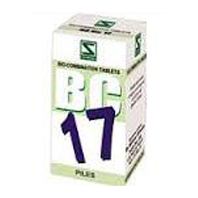 Buy Schwabe Homeopathy Bio Combination 17 - Piles online United States of America [ USA ]