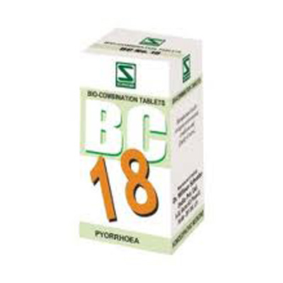 Buy Schwabe Homeopathy Bio Combination 18  - Pyorrhoea online United States of America [ USA ]