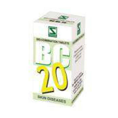 Buy Schwabe Homeopathy Bio Combination  20 - Skin Diseases  online United States of America [ USA ]