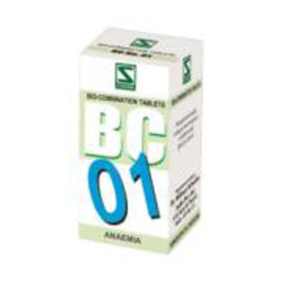 Buy Schwabe Homeopathy Bio Combinations 01 Anaemia online United States of America [ USA ]