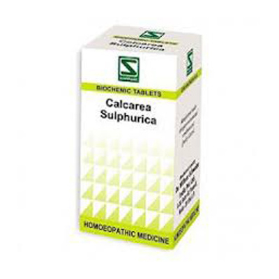 Buy Schwabe Homeopathy Calcarea Sulphurica - For Eczema and skin eruptions online United States of America [ USA ]