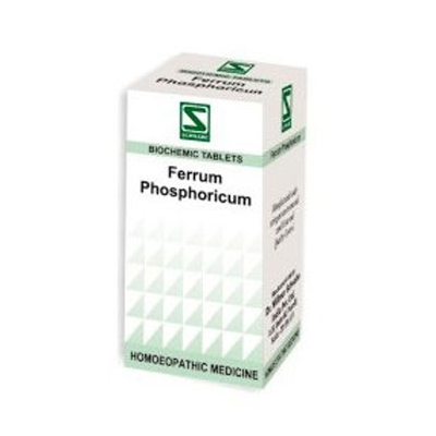 Buy Schwabe Homeopathy Ferrum phosphoricum - Anaemia and acute fever online United States of America [ USA ]