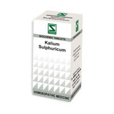 Buy Schwabe Homeopathy Kalium Sulphuricum - Itchy and scaly skin online United States of America [ USA ]