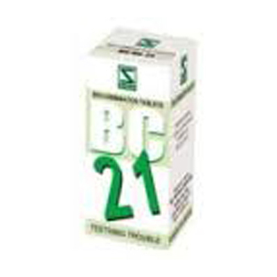 Buy Schwabe Homoeopathy Bio Combination 21 - Teething Troubles online United States of America [ USA ]