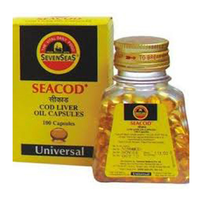 Buy Seacod Cod Liver Oil Capsules Online UK
