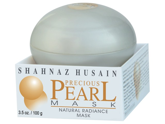 Buy Shahnaz Husain Pearl Mask - natural Radiance Mask Online MY