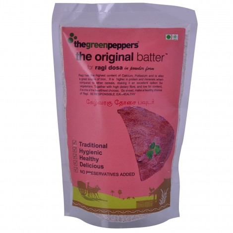 Buy The Green Peppers Ragi Dosa Powder Online MY