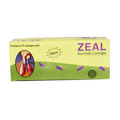 Buy Vasu Pharma Zeal Ayurvedic Lozenges Online MY