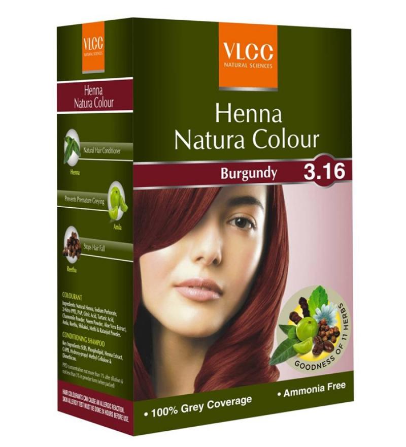 Magic Natural Hair Colour Henna Care