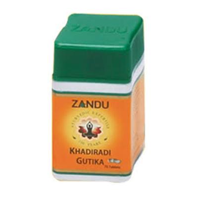 Buy Zandu Khadiradi Gutika online United States of America [ USA ]