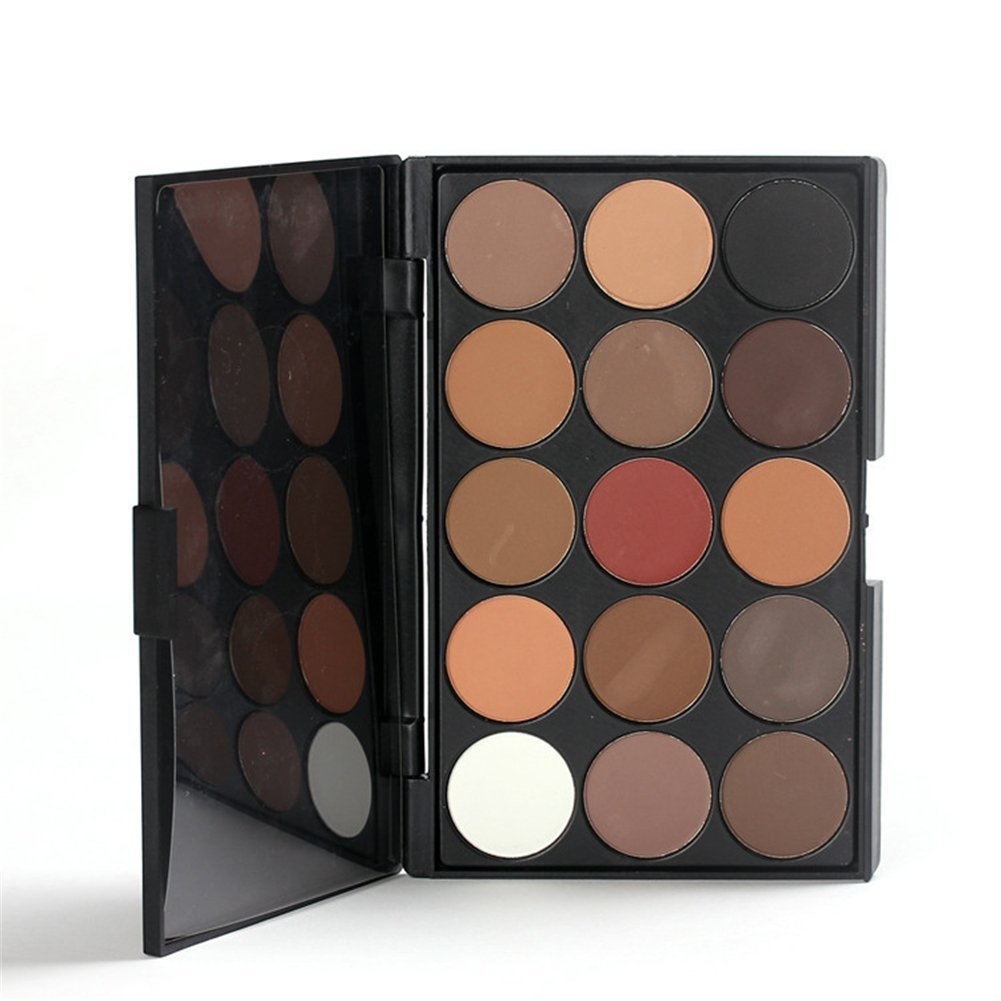 Buy Pure Vie Professional 15 Colors Eye Shadow Palette Makeup Contouring Kit Online FR