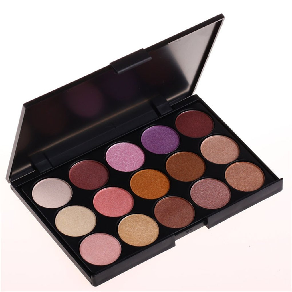 Buy Pure Vie Professional 15 Colors Eyeshadow Palette Makeup Contouring Kit for Salon and Daily Use Online FR