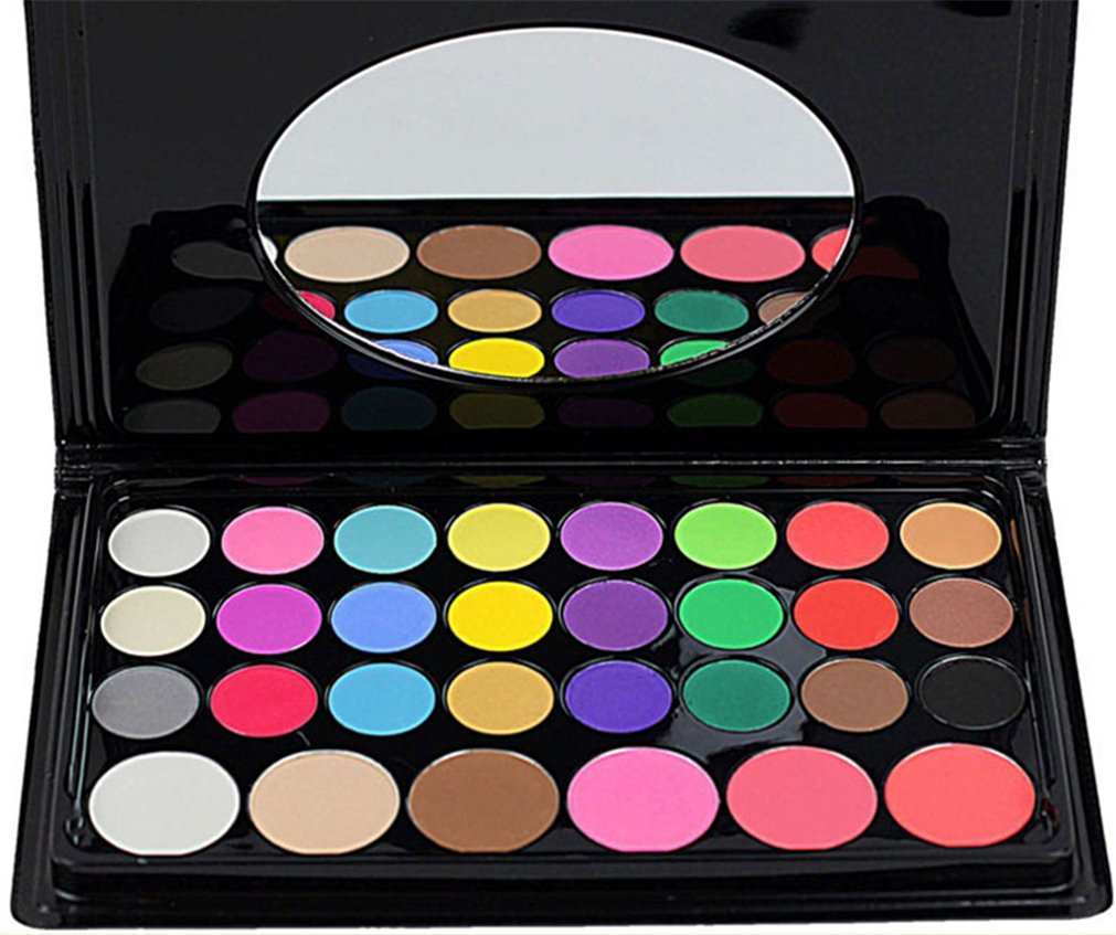 Buy Pure Vie Professional 30 Colors Eyeshadow Blush Concealer Palette Makeup Contouring Kit for Salon and Daily Use Online MY
