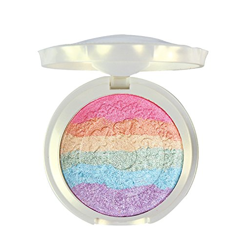 Buy Pure VieProfessional 7 Colors Rainbow Eyeshadow Palette Makeup Contouring Kit for Salon and Daily Use Online UK