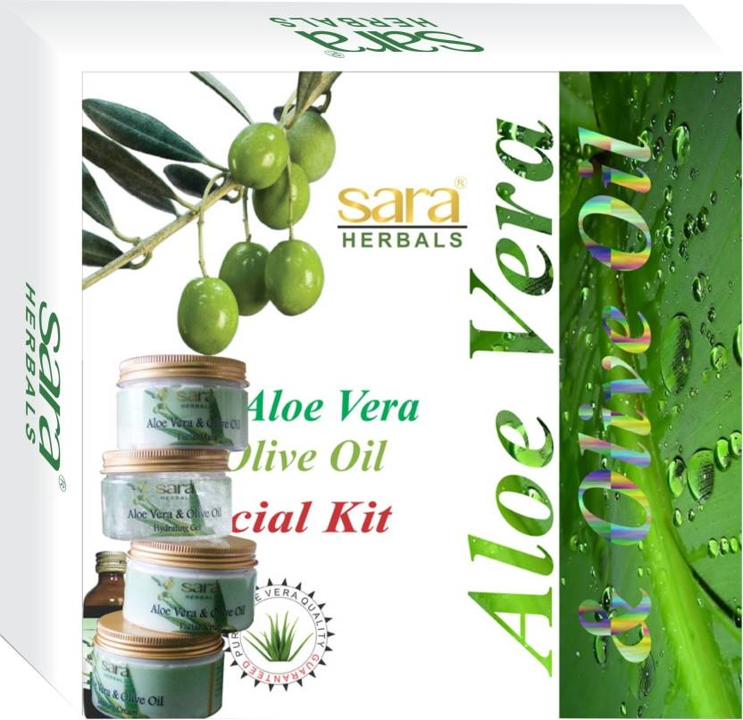 Buy Sara Aloe Vera & Olive Oil Facial Kit  Online MY