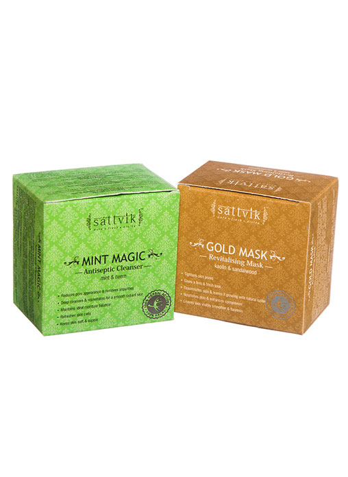 Buy Sattvik Organics Luscious Skin Combo Online MY
