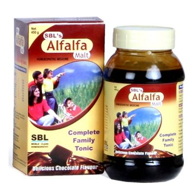 Buy SBL Homeopathy Alfalfa Malt Complete Family Tonic online United States of America [ USA ]