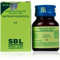 Buy SBL Homeopathy Bio Chemic Tablets Natrum Muriaticum 6x online United States of America [ USA ]