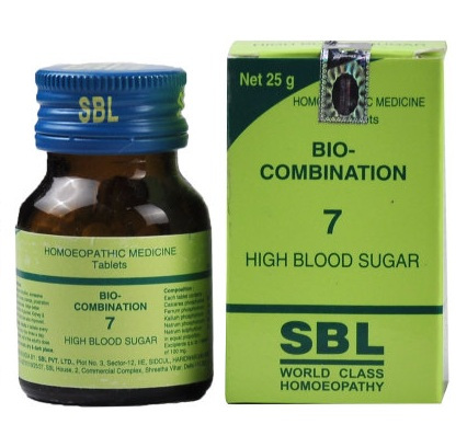 Buy SBL Homeopathy Bio Combination High Blood Sugar 7 online United States of America [ USA ]