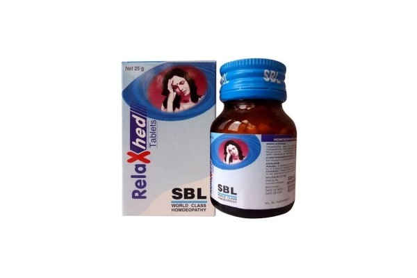 Buy SBL Homeopathy RelaxHed Tablets for Migraine Online MY