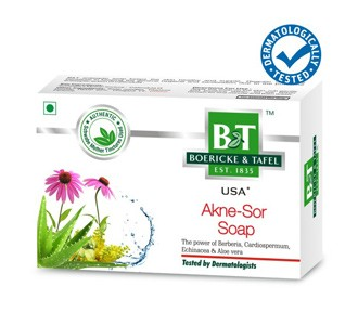 Buy Schwabe Homeopathy B & T Akne Sor Soap online United States of America [ USA ]