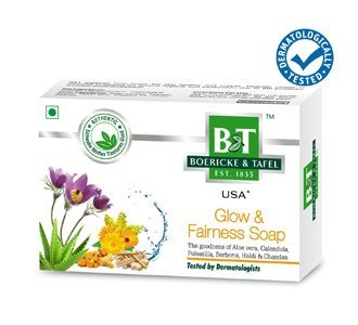 Buy Schwabe Homeopathy B & T Glow Fairness Soap online United States of America [ USA ]