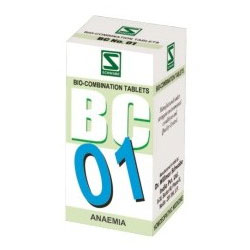 Buy Schwabe Homeopathy BC 01-Anaemia online United States of America [ USA ]