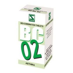 Buy Schwabe Homeopathy BC 02-Asthma online United States of America [ USA ]