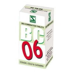 Buy Schwabe Homeopathy BC 06-Cough Cold & Catarrh online United States of America [ USA ]
