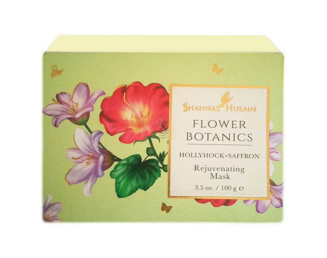 Buy Shahnaz Husain Flower Botanics Hollyhock Saffron Rejuvenating Mask online United States of America [ USA ]