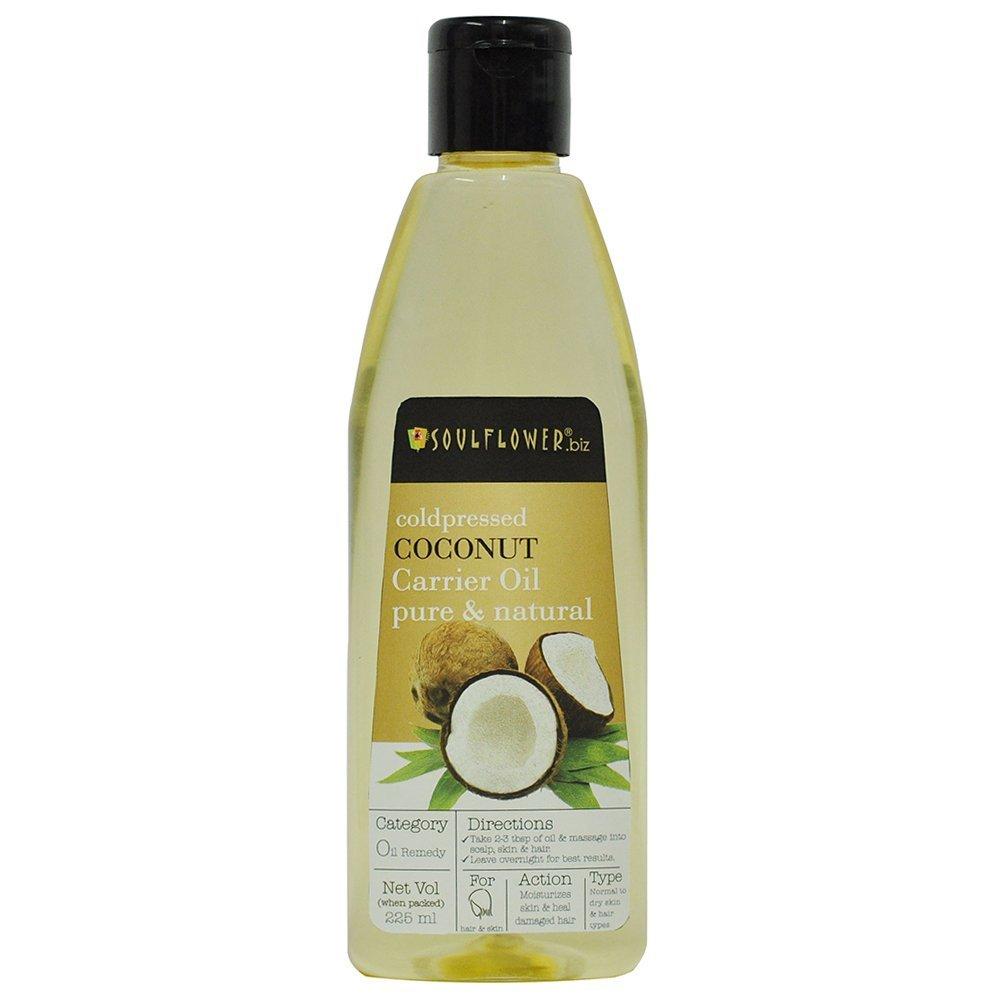 Buy Soulflower Coconut Carrier Oil Online MY