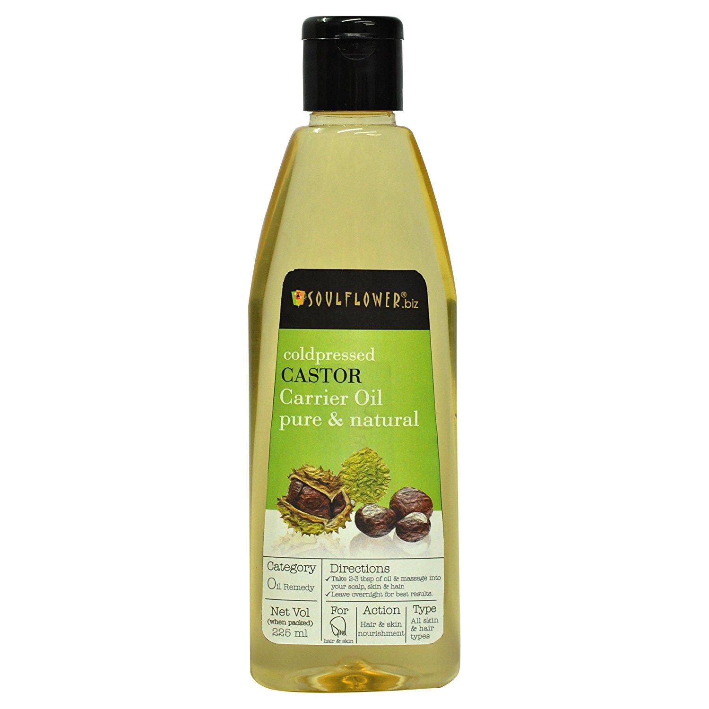 Buy Soulflower Coldpressed Castor Carrier Oil Online MY