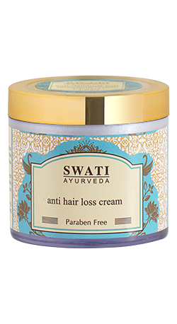 Buy Swati Ayurveda Anti Hair Loss Cream ( paraben Free ) Online MY