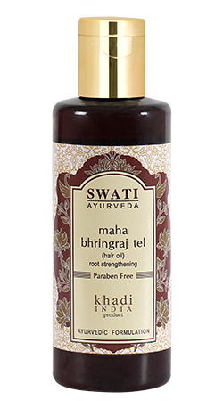 Buy Swati Ayurveda Maha Bhringraj Tel ( root Strenthening ) Online MY