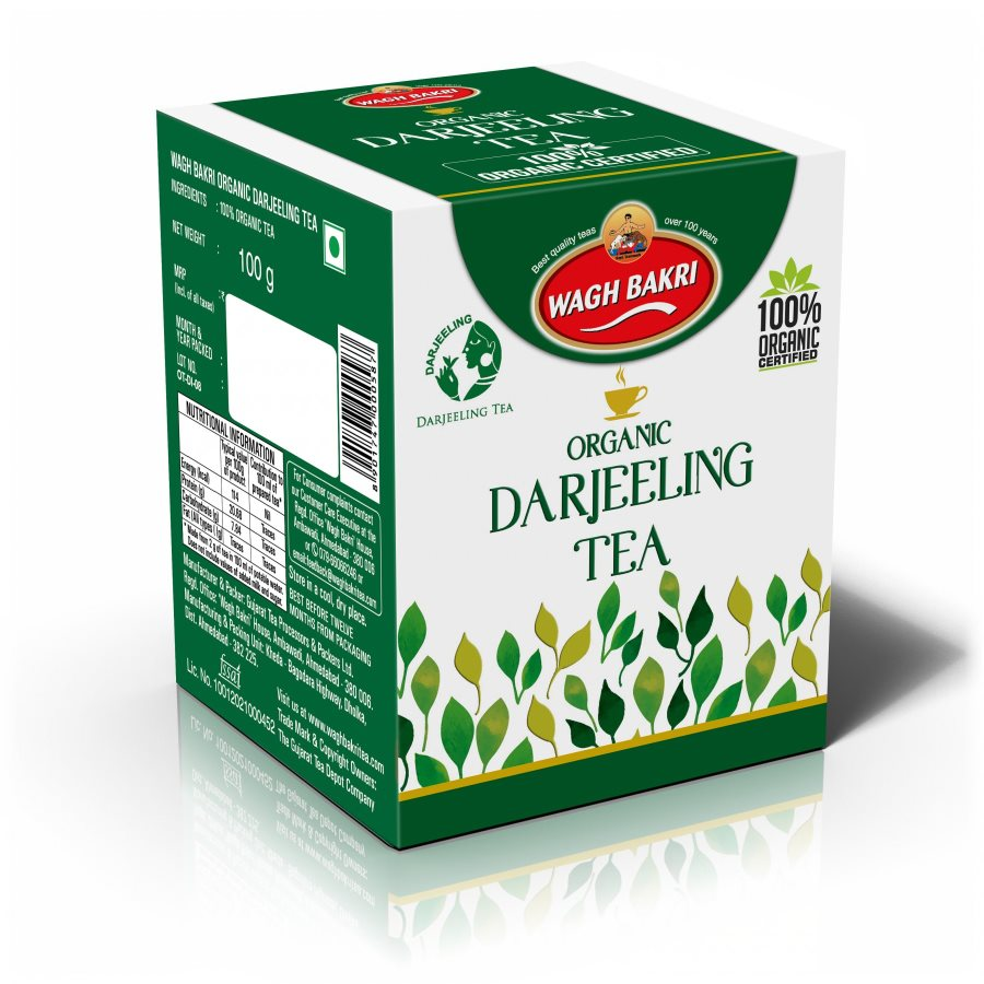 Buy Wagh Bakri Organic Darjeeling Tea online United States of America [ USA ]