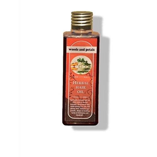 Buy Woods and Petals Herbal Hair Oil - 100 ml Online MY