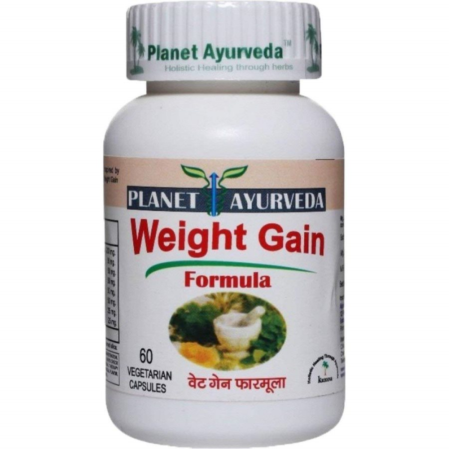 Buy Planet Ayurveda Weight Gain Formula Capsules online United States of America [ USA ]