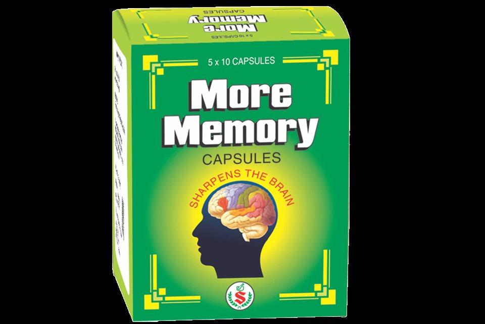 Buy  Surjichem Herbs More Memory capsule online Singapore [ SG ]
