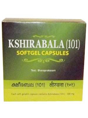 Buy Kottakal Ayurveda Kshirabala (101) Softgel Capsules online United Kingdom [ UK ]