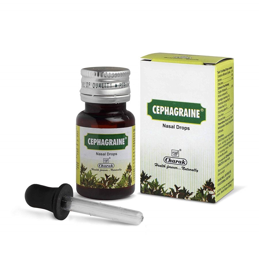 Buy Charak Cephagraine Nasal Drops online Singapore [ SG ]