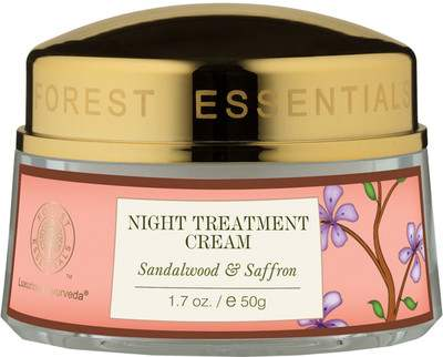Buy Forest Essentials Night Treatment Cream Sandalwood & Saffron online Nederland [ NL ]