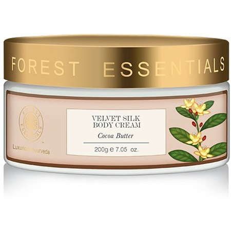 Buy Forest essentials Velvet Silk Body Cream Cocoa Butter online United States of America [ USA ]