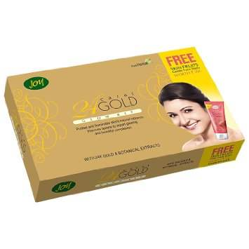 Buy Joy 24 Carat Gold Glow Facial Kit online New Zealand [ NZ ]