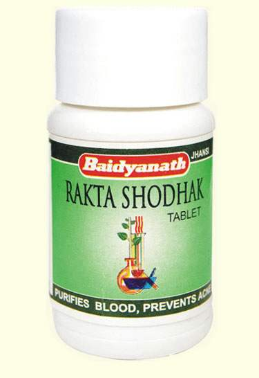 Buy Baidyanath Rakta shodhak for Acne Prevention online Australia [ AU ]